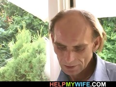 he is is invited to fuck his youthful wife