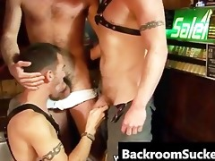butch bum bashing in the back room part0