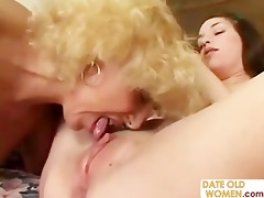 grandmother fucking youthful girl