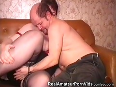 older obese housewife is screwed by fellows