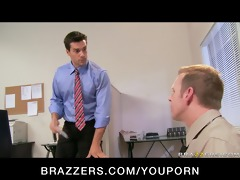 large tit brunette hair whore boss anal &