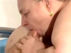 fat granny fucking and engulfing hubby