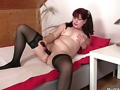 sexy mother in law rides his penis and receives