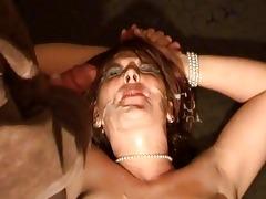 non-professional wife outlandish bukkake fetish