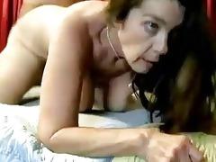 kinky aged babe enjoys a hard fucking