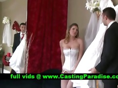 kayla paige breathtaking breasty bride