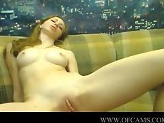 hot web camera beauty masturbating with her bigg