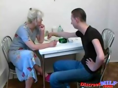 russian aged bitch engulf large schlong in the