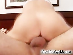 nice-looking mommy handling violent jocks part5