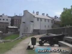 slutty french girlfriend road tour sex part8