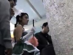 argentina : filmando el culo a pendeja de 411 en