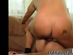 sexually excited housewife acquires gangbanged