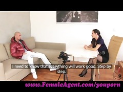femaleagent. gorgoeus dude in mind blowing casting