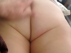 the wifes large obese obese bushy whits backdoor