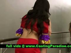 april yurizan breathtaking lesbos licking teats