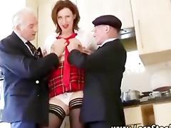 older boyz acquire a fellatio from british