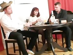 she is loses in poker and acquires drilled by
