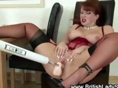 aged british doxy fetish machine fuck