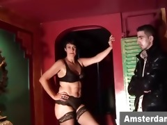 older dutch prostitute gives bj