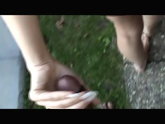 outdoor oral stimulation and facial