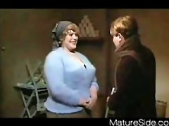 vintage big beautiful woman + lad from matureside