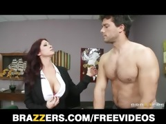 hawt redhead milf tiffany mynx punished for poor