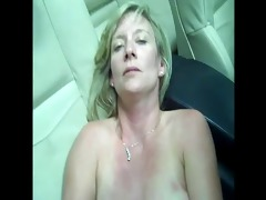 aged bitch is talking indecent (in car)