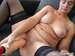 angela from austria trying fresh toys