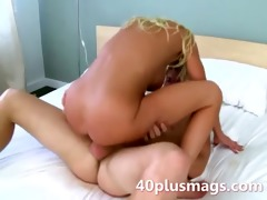 horny blond wife stelle