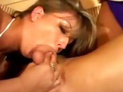 large tit milfs slobber all over fortunate males