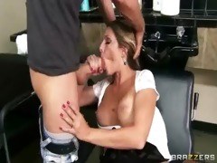 hardcore sex tape with breasty lustful whore