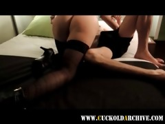 cuckold mother i in nylons drilled in hotel room