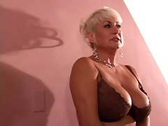 sexy older dana acquires her fill and a tit fuck