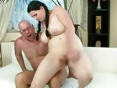 favourable grandad fucking with breasty legal age