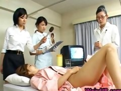 oriental wife is examining male workers part4